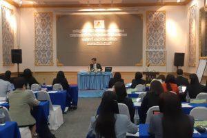 การประชุมเชิงปฏิบัติการจัดทำแผนและแนวทางการดำเนินงาน ของสำนักงานเขตพื้นที่การศึกษาคุณธรรม(องค์กรคุณธรรม)ต้นแบบ
