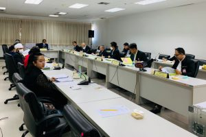 ประชุมคณะอนุกรรมาธิการด้านการศาสนา ในคณะกรรมาธิการศาสนา คุณธรรม จริยธรรม ศิลปะและวัฒนธรรม วุฒิสภา ครั้งที่ 21/2563
