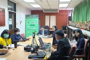 การประชุมคณะอนุกรรมการดำเนินโครงการนำร่องศึกษาดูงานสถานีโทรมาตรอัตโนมัติฯ และการบริหารจัดการน้ำชุมชนอย่างยั่งยืน ครั้งที่ 1/2563